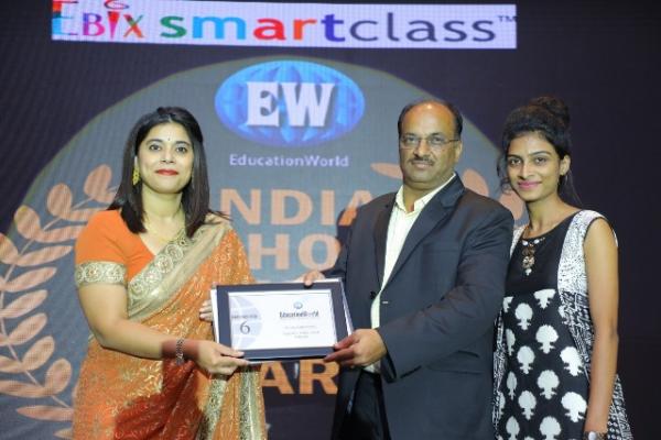 School Is Awarded As Maharashtra's No. 6 & Kolhapur's No. 1 Co-Ed Boarding School By Education World India School Rankings 2018.